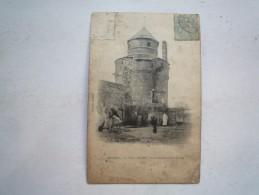 59 ORCHIES LA TOUR A DIABLES PRISON FEODALE 1905 CIRCULEE DOS DIVISE  ETAT MOYEN SALI MANQUE HAUT SUP GAUCHE