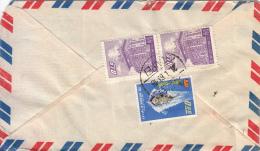 1961 China Taiwan Formosa Père A. Souren, Mission Cath. Scheut Taipei Airmail Cover - Belgium + Censorship Cut - 1945-... République De Chine