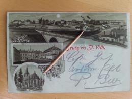 SAINT-VITH _ Gruss Aus 1898 - Saint-Vith - Sankt Vith