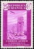 España 0717 ** Prensa Aereo. Palacio De La Prensa. 1936 - 1931-Hoy: 2ª República - ... Juan Carlos I