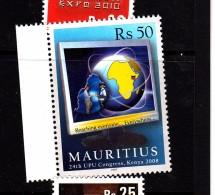 2007 Mauritius UPU Congress Kenya  Set Of 1 MNH - Mauritius (1968-...)