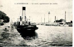 N°2 E -cpa Ouistreham -un Remorqueur-appontement Des Yachts- - Remorqueurs