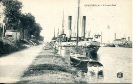 "N°3 E -cpa Ouistreham L'avant Port -le ""Seine II"" - Commerce"