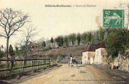 CPA SILLE LE GUILLAUME 72 Route De Mayenne - Sille Le Guillaume