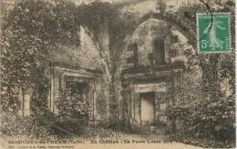 ARLESST MICHEL EN L'HERM  AU CHATEAU LA PORTE LOUIS XIV       (VIAGGIATA) - Saint Michel En L'Herm