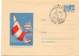RUSSIA 1977  SAILING SPORT  AIR MAIL  (M160222) - Vela