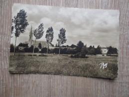 CPA PHOTO 44 HAUTE GOULAINE VUE GENERALE EGLISE - Haute-Goulaine