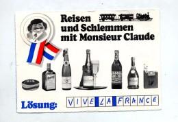 Carte Flamme Ravensbourg  Ville Illustré Voyage Gastronomie France Vin Fromage  Cigarette Gauloise - Marcophilie - EMA (Empreintes Machines)