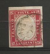 Italie Sardaigne  Nr  9   O - Sardaigne