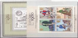 Great Britain 1980/81 2 M/S London 80 As Photo - 1952-.... (Elisabetta II)