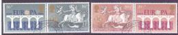 Great Britain 1984 Europa 2 Pairs Se-tenant VFU - 1952-.... (Elisabetta II)