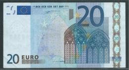 S  ITALIA 20 EURO  J002 - DUISENBERG  - CIRCULATED - 20 Euro