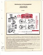 SPANJE - Michel - 1982 - BL 26 (Privé Uitgifte/Rood) - MNH** - Blocks & Kleinbögen