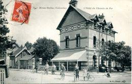 N°31 E -cpa Ouistreham -l'hôtel Du Chemin De Fer- - Ouistreham