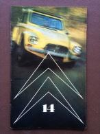 Revue Citroen Le Double Chevron N° 14 - Special 20 Ans De La 2cv - Dyane 6 - ID 20 Et DS - B14 Landaulet, Etc - Pubblicitari