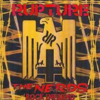 RUPTURE - The NERDS ROCK INFERNO - SPLIT CD - SCAREY RECORDS - PUNK - Punk