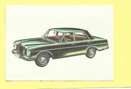 Chocolat Jacques Le Monde Des Autos 1966 N° 14 Mercedes-benz 250 S - Jacques