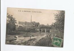 LA MOTTE BOURBON (POUANCAY 86) LE CANAL DE LA DIVE 1909 - Autres Communes