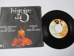 """Musique De Pierre  BACHELET  ---  Bande Originale Du Film  """"""""HISTOIRE  D' O """"""""    --  2 Photos - Filmmusik"""
