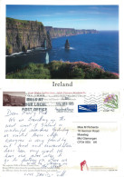 Cliffs Of Moher, Clare, Ireland Postcard Posted 2009 Stamp - Clare