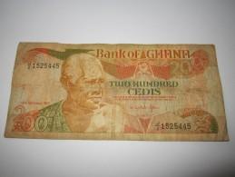-1 BILLET--200-CEDIS---1991----GHANA - Ghana