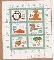 OURS-L57 - ALLEMAGNE ORIENTALE N° 2316/21 Neufs** En Petit Feuillet Thème Jouets - Giochi