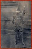 CPA CARTE-PHOTO Allemande (Klaiber) AK Fotokarte LUDWIGSHAFEN (Prisonnier De Guerre) Militaria - War 1914-18