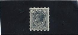 MONACO   N° 92  *               Valeur YT : 1,30 € - Unused Stamps
