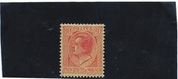 MONACO   N° 93   *               Valeur YT : 0,50 € - Unused Stamps