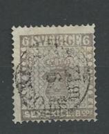 1855 USED Sweden, Mi No 3 - Suède