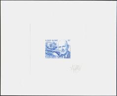 """France épreuves D'artistes 2000 à 2008 N°3403 A.Caquot , Pont Et Ballon """"""""saucisse"""""""" épr. D'artiste En Bleu Signée   Qua - Artist Proofs"""