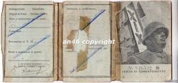 TESSERA-P.N.F-ANNO XIX -FASCIO DI COMBATTIMENTO--VEDI OFFERTA SPECIALE IN SPESE DI SPEDIZIONE - Historical Documents