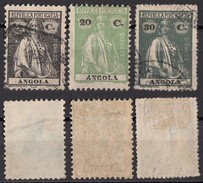 119 Angola 1914 - 26 Colonia Portoghese - Ceres - Angola