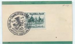 BERLIN/Charlottenburg/International Automobil Und Motorrad-Ausstellung/Dresdner Bank/1939         TIMB79 - Zonder Classificatie