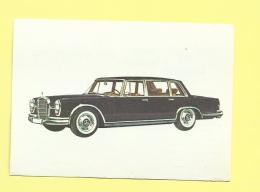 Chocolat Jacques Le Monde Des Autos 1966 N° 33 Mercedes Benz 600 - Jacques