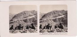 Stereo-Foto (photo Stéréo) 81 Salzburger Alpen -Steinernes Meer, Am Gipfewl Des Brandlhorn, Blick Auf Den Hochselller- - Photos Stéréoscopiques