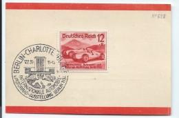 BERLIN/Charlottenburg/International Automobil Und Motorrad-Ausstellung/Dresdner Bank/1939   TIMB82 - Zonder Classificatie