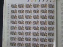4443  COLMAR. FEUILLE COMPLETE DE 48  TIMBRES - Feuilles Complètes