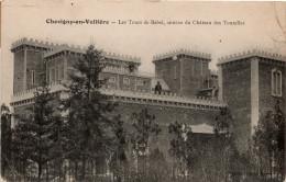 Chevigny En Valière (Vallière) : Château Des Tourelles, Les Tours De Babel (Editeur Prost, Pierre De Bresse) - Autres Communes