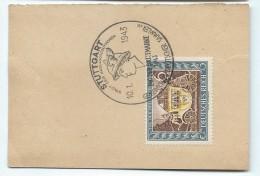 STUTTGART/Gemeinschaft-Deutscher Sammler/Stadt Der Auslandsdeutschen/1943   TIMB80 - Allemagne