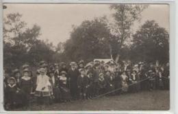 33  Carte Photo  Souvenir Du 10 Mai 1914  Fête Sportive Au Bosquet - Brodées