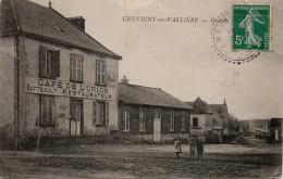 Chevigny En Valière (Vallière) : Grande Rue, Café De L'Union, Batteault Restaurateur (Editeur Non Mentionné) - Other Municipalities