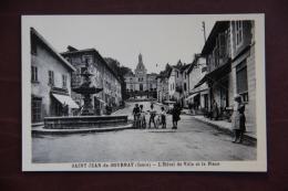 Saint Jean De Bournay - L'Hotel De Ville Et La Place - Saint-Jean-de-Bournay