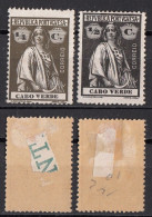144 Capo Verde 1914 - 26 Colonia Portoghese - Ceres - Isola Di Capo Verde