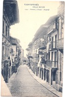 FUENTERRABIA -- Calle Mayor Précurseur TB   Neuve - Espagne