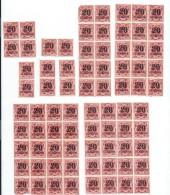 Allemagne/Timbres D´époque  Non Utilisés/77  Timbres / Hyperinflation/1920 - 1923          TIMB86 - Ongebruikt