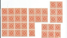Allemagne/Timbres D´époque  Non Utilisés/36  Timbres / Hyperinflation/1920 - 1923          TIMB87 - Germania