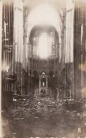CP Photo 1918 SAINT-QUENTIN - L´intérieur De La Cathédrale (S.B. Pionier-Komp 368) (A53, Ww1, Wk1) - Saint Quentin