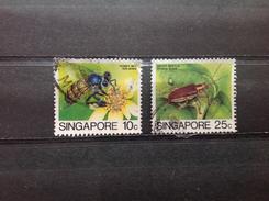 Singapore - Serie Insecten 1985 - Singapore (1959-...)