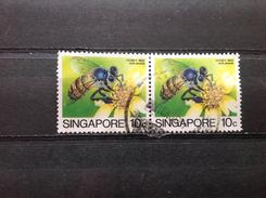 Singapore - Blokje Insecten (10) 1985 - Singapore (1959-...)